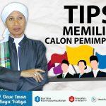 TIPS MEMILIH CALON PEMIMPIN