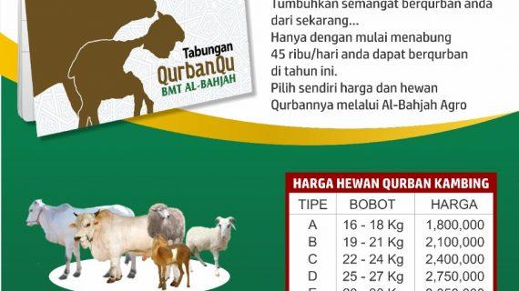 Qurban Yuk !!! Bersama KSPP Syariah BMT Al-Bahjah