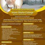 Telah dibuka ! SPMB Beasiswa S1 Imam Shafie College Mukalla, Hadramawt – Yaman