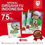Promo Buku Buya Yahya menyambut Dirgahayu Indonesia ke 75