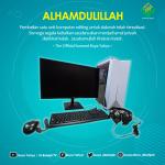 Alhadulillah, Pembelian Satu Unit PC telah terealisasi. Terimakasih Kepada Semua Donatur