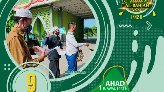 """09 HARI LAGI ! MAULID AKBAR """"SATU HATI DI AL-BAHJAH 1442 H"""""""