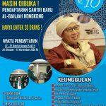 MASIH DIBUKA ! PENDAFTARAN SANTRI PUTRI BARU AL-BAHJAH HONGKONG