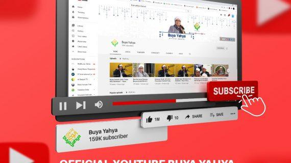 Mari Subscribe Youtube Buya Yahya