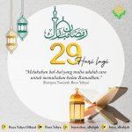 29 HARI MENUJU RAMADHAN
