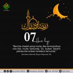 07 Hari Menuju Ramadhan