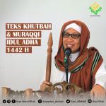 Teks Khutbah dan Muroqqi Idul Adha 1442 H Majelis Al-Bahjah